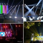 Nebula Lighting on Wonderful Live Show in Indonesia